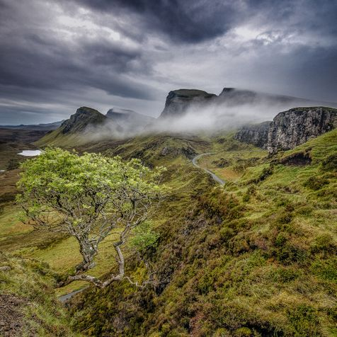 Quirange Isle Of Skye Scotland